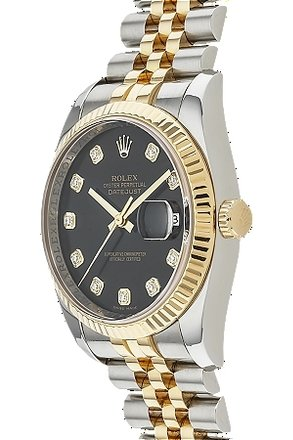 Rolex Rolex DateJust 116233 18K/SS original Diamond Men's Watch