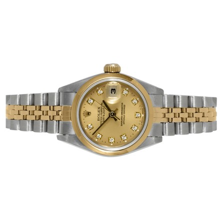 Rolex ROLEX DATEJUST 18K/SS LADIES WATCH