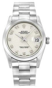 Rolex ROLEX DATEJUST 68240 STAINLESS STEEL UNISEX WATCH