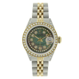 Rolex Rolex Datejust 69173 String Tahitian Diamond Dial and Bezel