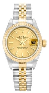 Rolex ROLEX DATEJUST 79173 18K YELLOW GOLD AND STEEL LADIES WATCH