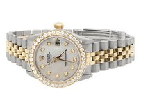 Rolex Rolex Datejust Tone 78273 18k Gold 31mm Stainless Steel Jubilee Diamond Watch