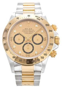 Rolex ROLEX DAYTONA 16523 CUSTOM DIAMOND DIAL MEN'S WATCH