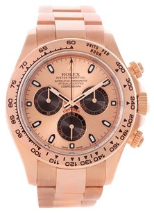 Rolex Rolex Daytona 18K Rose Gold Cosmograph Watch 116505