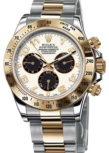 Rolex Rolex Two Tone Daytona Cosmograph Watch 116523
