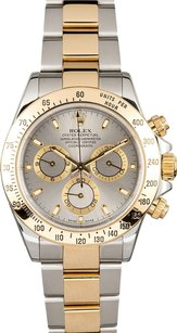 Rolex Rolex Daytona Two Tone Slate Dial Watch 116523