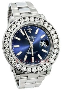 Rolex Rolex Men's DateJust II Custom Diamond Watch 7.50CT