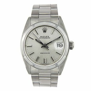 Rolex Rolex Oyster Date Precision 6466 Vintage Hand-winding Mid Watch
