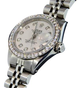 Rolex Rolex Oyster Perpetual Date Just Women's Diamond Watch 1.50 CT