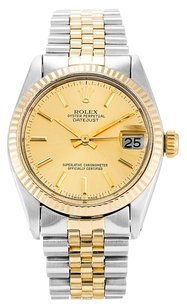 Rolex ROLEX DATEJUST 6827 STAINLESS STEEL AND YELLOW GOLD UNISEX WATCH