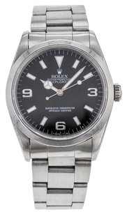 Rolex Rolex Oyster Perpetual Explorer 34mm 114270 Stainless Steel Watch for Men RLXSEX1