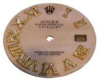 Rolex Rolex Pink Mother of Pearl Diamond DIal