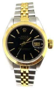 Rolex Rolex Two Tone Stainless Steel Yellow Gold DateJust Ladies Watch