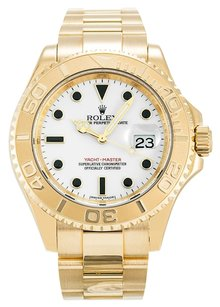 Rolex ROLEX YACHT-MASTER 16628 18K YELLOW GOLD MEN'S WATCH
