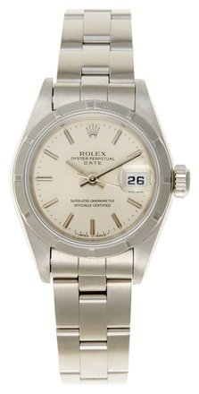 Preload https://item3.tradesy.com/images/rolex-silver-date-stainless-steel-dial-ladies-watch-5670052-0-0.jpg?width=440&height=440