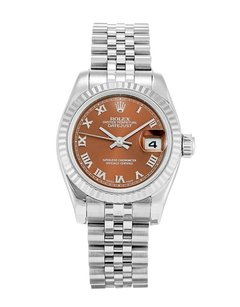 Rolex SS DATEJUST LADY MOP BRONZE DIAL LADIES WATCH (New Style)