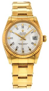 Rolex Vintage DateJust 6827 31mm Watch in 18K Yellow Gold with Oyster Bracelet RLXMDY5