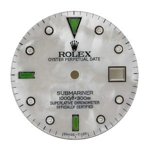 Rolex Custom Rolex Submariner White MOP Diamond Dial- DIAL ONLY