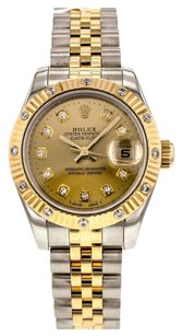 Rolex Women's DateJust 179313 26mm Watch in Stainless Steel and 18k Yellow Gold RLXL2T173