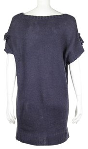 Romeo & Juliet Couture Amp Boat Neck Wool Knit Sweater