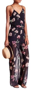Romeo & Juliet Couture Floral Jumpsuit Dress