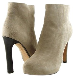 Rosegold Shoes Michele Suede Tan Boots