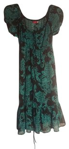 Ruby Rox Top turquoise and black