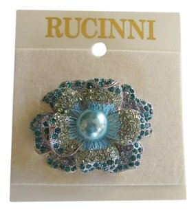 RUCINNI FLOWER BROOCH/PIN