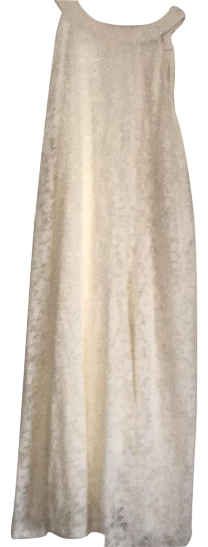 Rue 21 White Sunday Best Mid Length Cocktail Dress Size 22