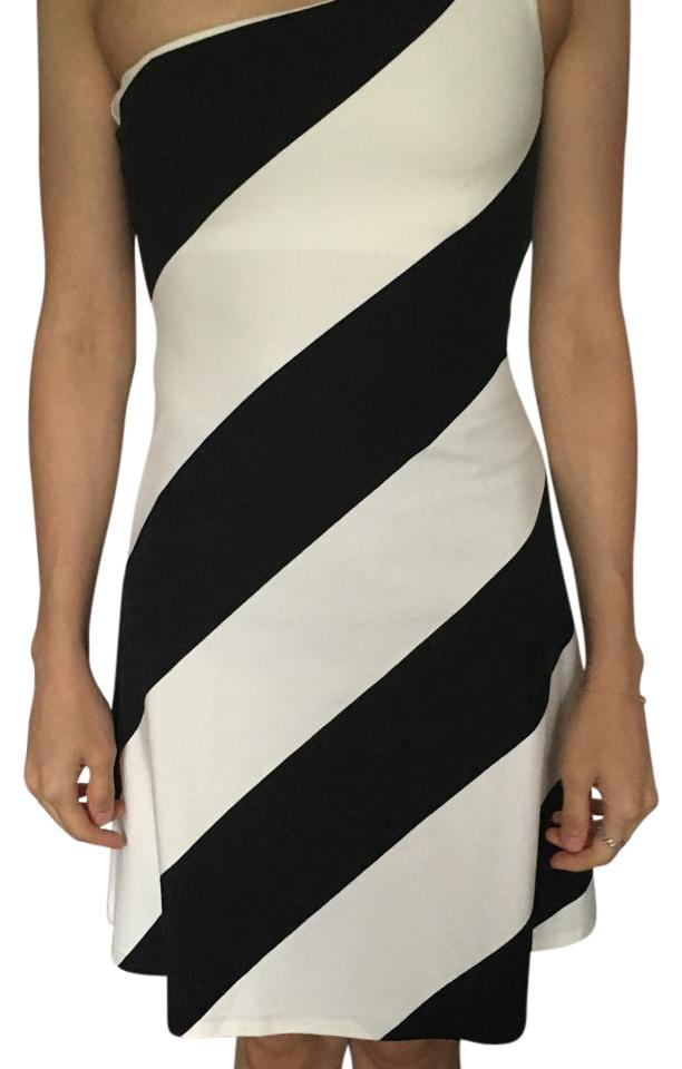 Rugby Ralph Lauren short dress Black and white on Tradesy ...