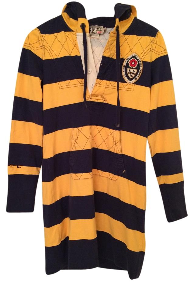 Rugby Ralph Lauren short dress yellow and dark blue on Tradesy