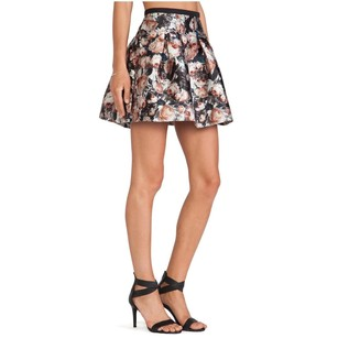 Sachin + Babi Circle Mini Skirt mutli black silver bronze