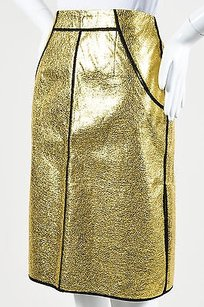 Sachin + Babi Black Skirt Gold