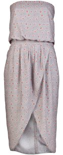 Sachin + Babi short dress Grey Strapless Polka Dot Dotted Tulip Pockets on Tradesy