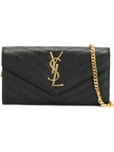 Saint Laurent Classic Black Clutch