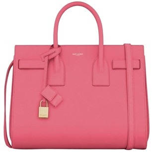 Saint Laurent Sac De Jour Ysl Tote in Pink