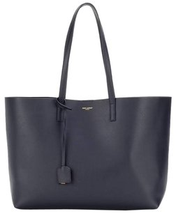 Saint Laurent Shopping Summer Color Tote in Navy