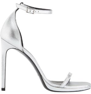 Saint Laurent Silver Sandals