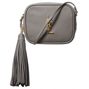 Saint Laurent Yvessaintlaurent Elegant Monogram 100%leather Italian Made Cross Body Bag