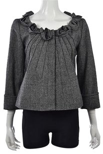 Saks Fifth Avenue Womens Multi-Color Jacket