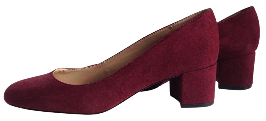 Saks Fifth Avenue Leather Round-Toe Pumps outlet with paypal order online chPCfULE