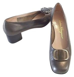 Salvatore Ferragamo 8n Metallics Pumps