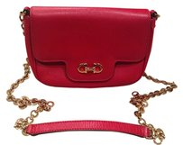Salvatore Ferragamo Calfskin Cross Body Bag