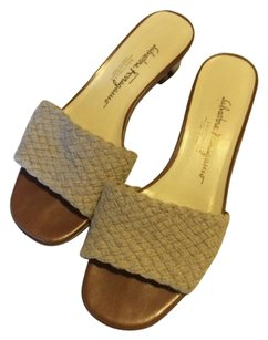 Salvatore Ferragamo Tan Sandals