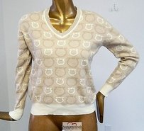 Salvatore Ferragamo Beige Sweater