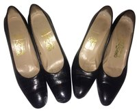 Salvatore Ferragamo Vintage Aaaa Black Pumps