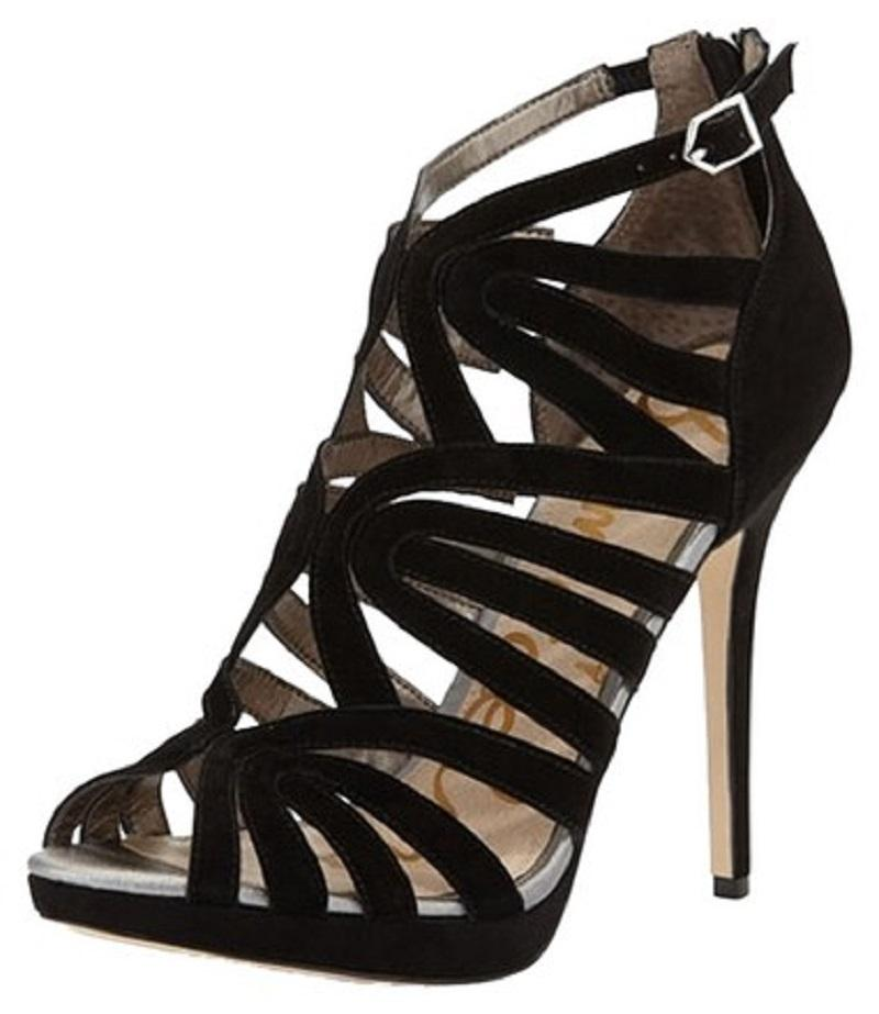 Sam Edelman Suede Caged Sandals free shipping eastbay 100% guaranteed cheap price discount free shipping lnKAuUgA1