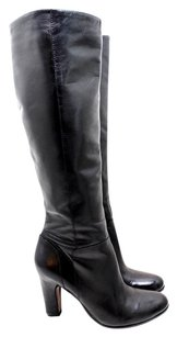Sam Edelman Leather Knee black Boots