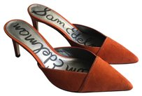 Sam Edelman Odelia Orange Mules
