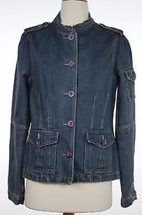 Sanctuary Clothing Womens Solid Womens Jean Jacket
